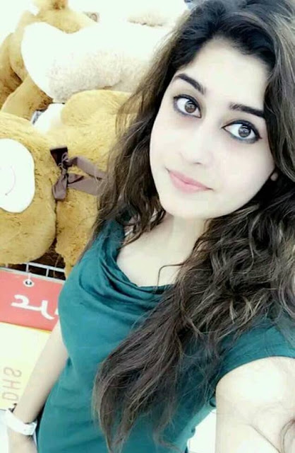 Kashmiri girl selfie photo