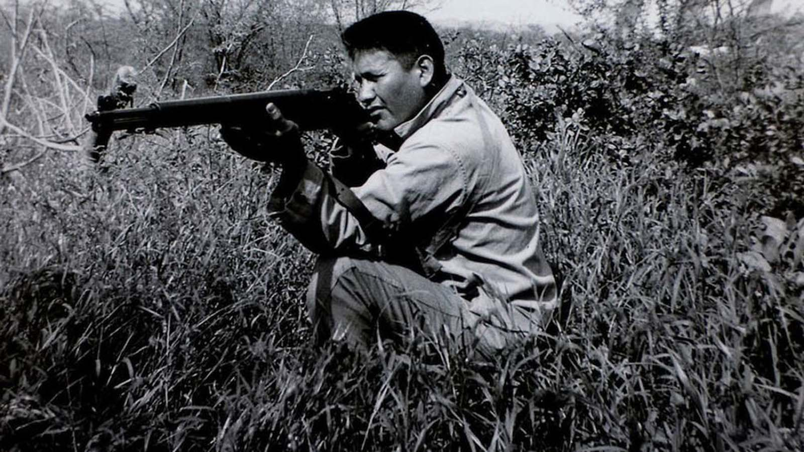 Chester Nez, one of the original 29 Navajo code talkers.