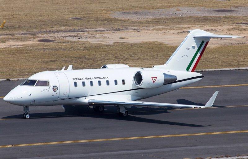 Lujoso jet de la Defensa Nacional sirve para realizar viajes de lujo para funcionarios del gobierno.