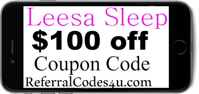 $100 Leesa Sleep Mattress Coupon Code Discount 2018 January, February, March, April, May, June