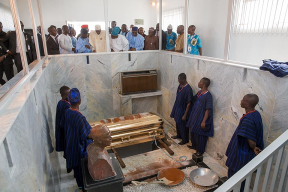 hid awolowo burial photos