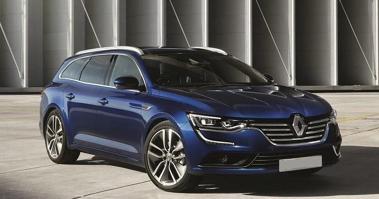 Racy Styling Renault Talisman Estate Car Reviews New Car