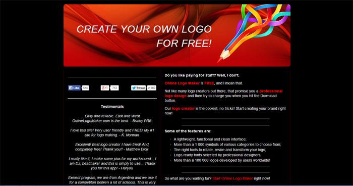 Cara Membuat Logo Online di Situs OnlineLogoMaker