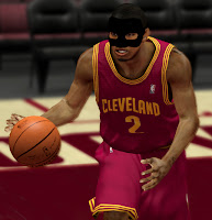 NBA 2K13 Kyrie Irving Cyber Face with Black Mask