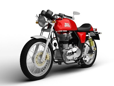 2017 Royal Enfield Continental GT ABS version
