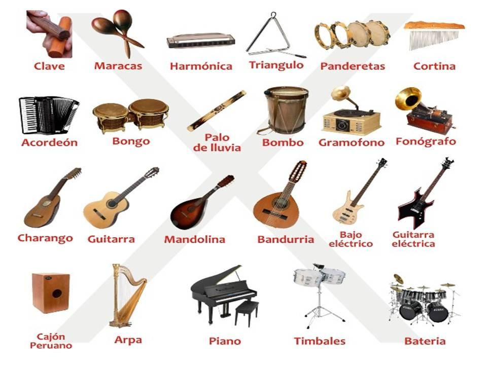 Música Instrumentos Lecturas Primaria