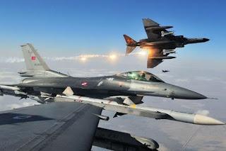 Militer Turki Sering Bombardir Militer Kurdi, Suriah Ancam Akan Tembak Jatuh Pesawat Turki - Commando