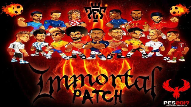 PES 2017 Immortal Patch 2019 V3 AIO