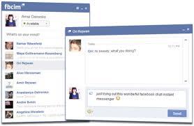 تنزيل برنامج فيس بوك شات آي أم للكمبيوتر مجانا برابط مباشر 2016