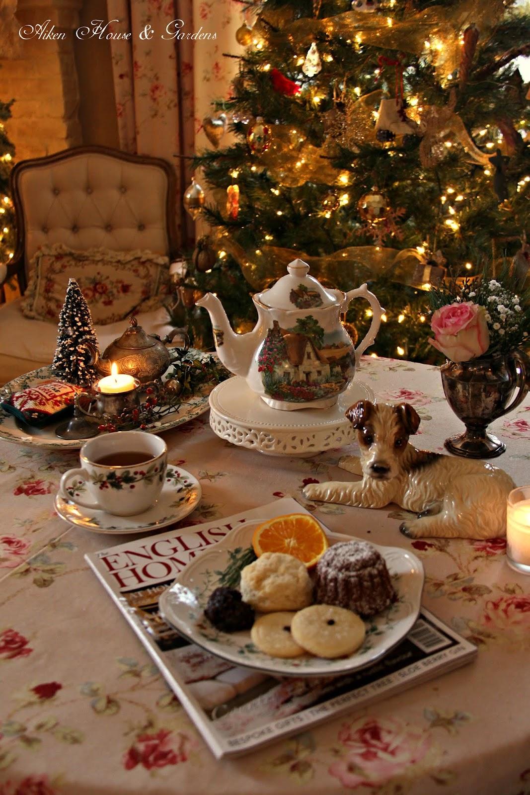 Aiken House  Gardens Christmas English Afternoon Tea