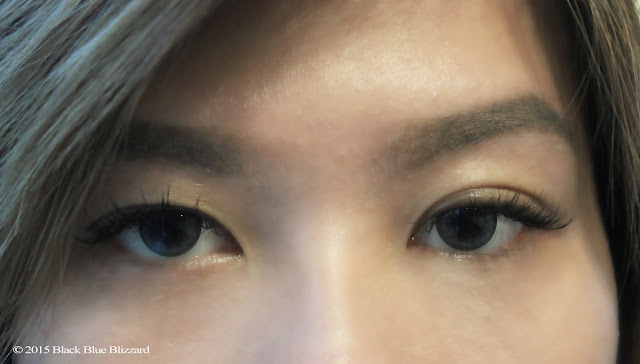 at tokyo belle the lashes is glued one by one patiently and it took about 1 - 1,5 hours