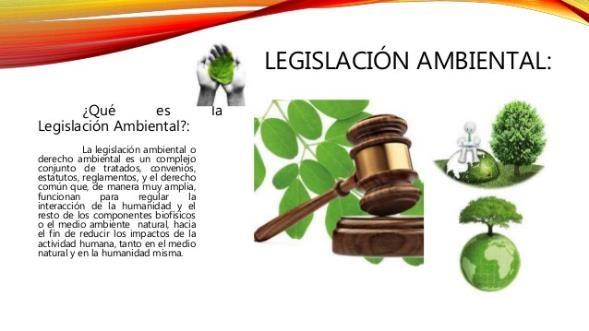 ¿Qué es la Legislación Ambiental?