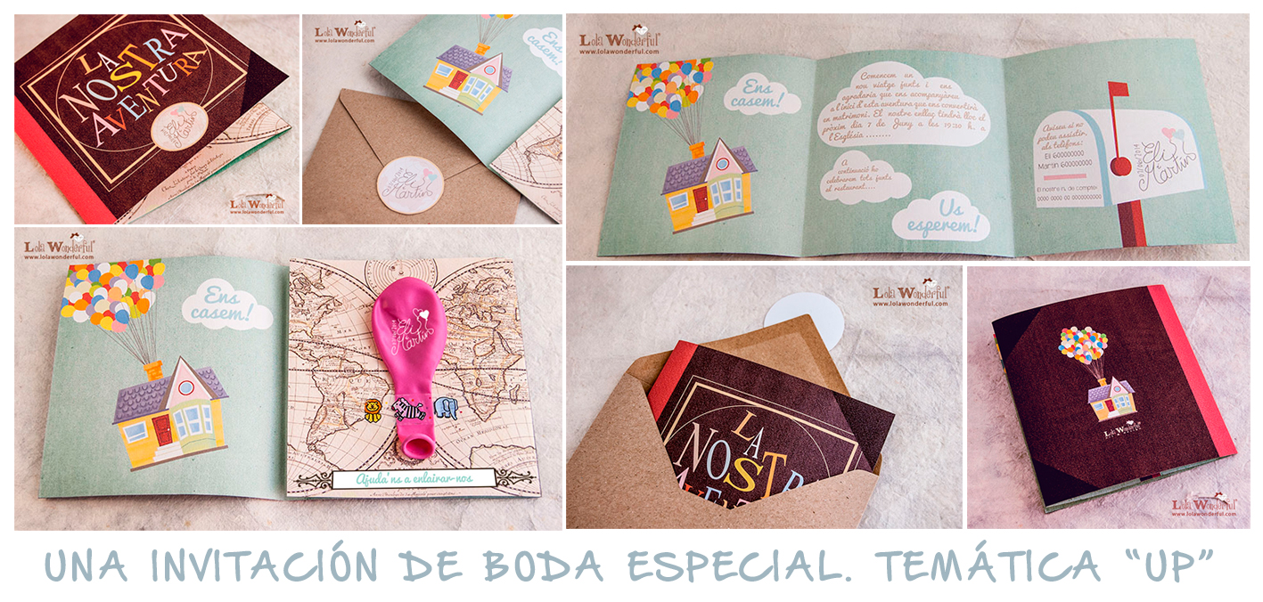 Lola wonderful regalos personalizados y dise o para - Maqueta casa up ...