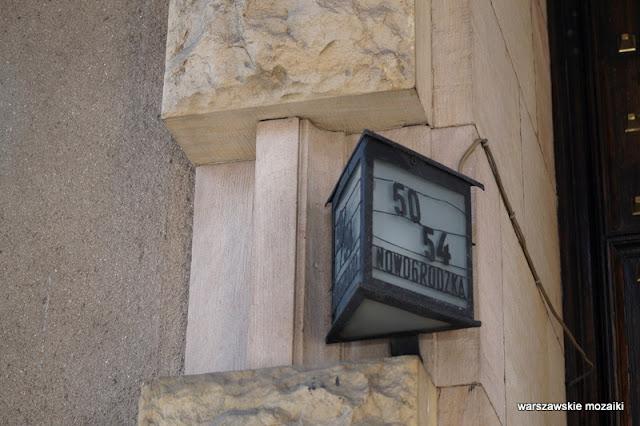 latarenka Warszawa Warsaw Nowogrodzka Państwowy Bank Rolny monumentalizm Marian Lalewicz architektura architecture