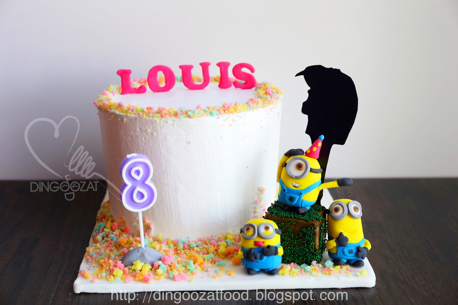 Birthday Cake Images Minions ~ Miki s food archives minions despicable me theme rainbow