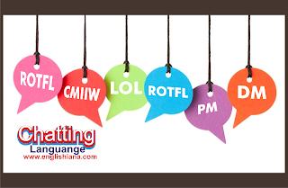 Kumpulan Kata Kata Gaul Bahasa Inggris dan Istilah dalam BBM dan Terjemahannya