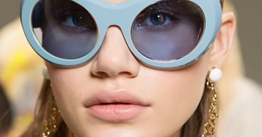 EL mundo de las gafas de sol- Eyewear Fashion Trends Catwalks Luxury Style
