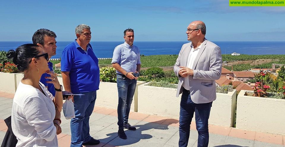 Resultado de imagen de El Cabildo y el Ayuntamiento abordan de forma conjunta iniciativas para promover el desarrollo socioeconómico de Tazacorte