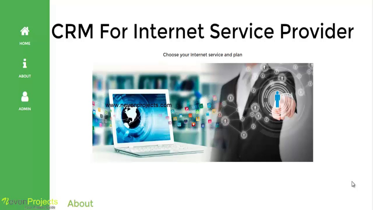 CRM For Internet Service Provider Php