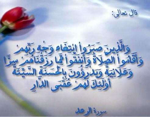 سلما للسماء أنا وصبر أيوب عليه السلام