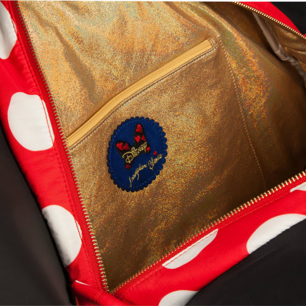 irregular choice disney why hello bag lining