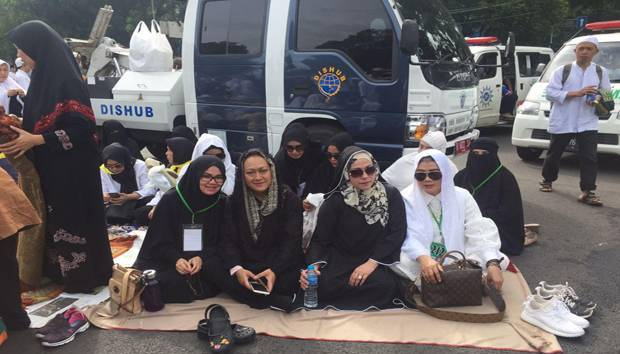 Putri Presiden Soeharto Ikut Aksi 2 Desember di Monas