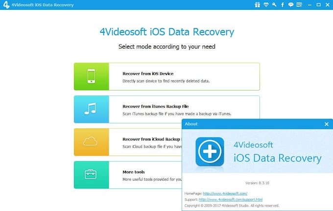 4Videosoft iOS Data Recovery 8