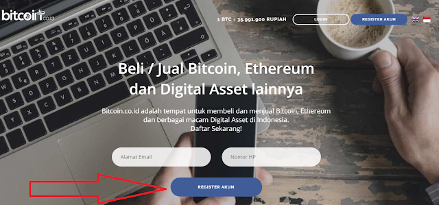 Cara Membuat Akun Bitcoin (Bitcoin wallet/Dompet Bitcoin/Bitcoin Address)