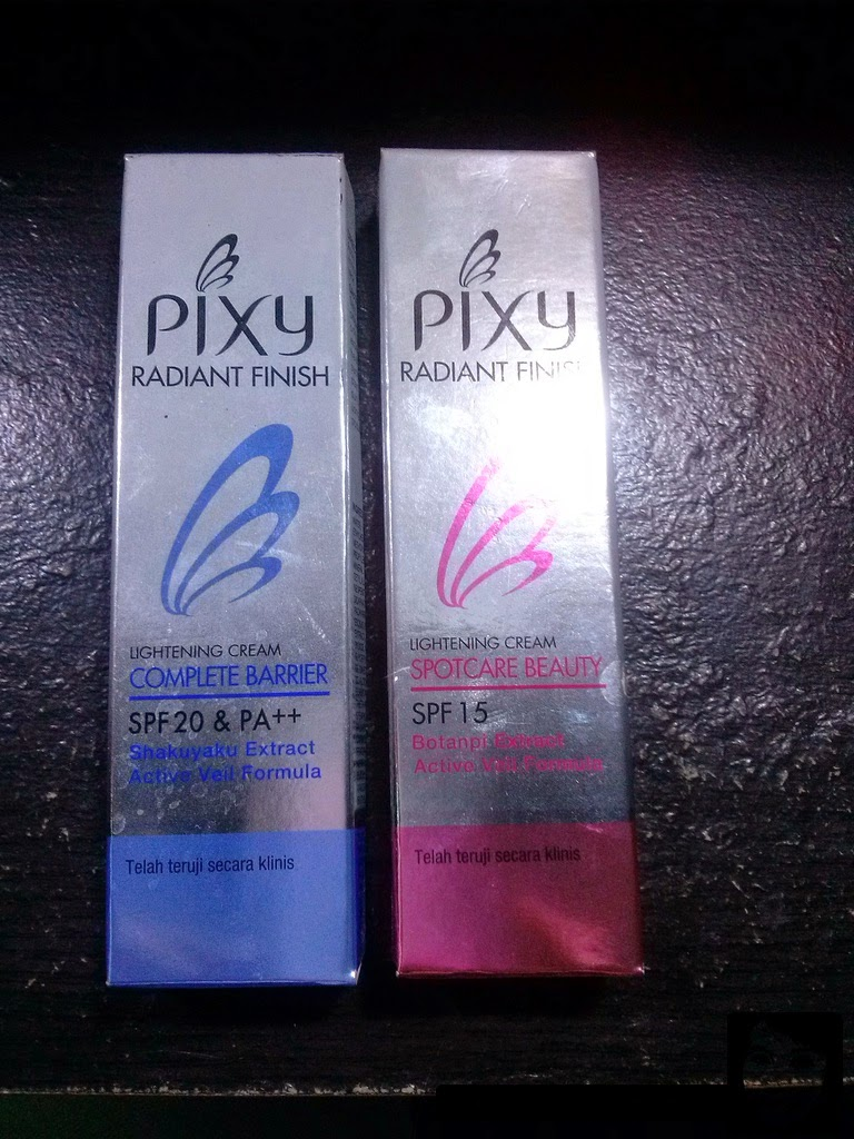 Sparks of Diamond: Product Review : PIXY Radiant Finish