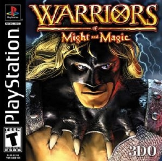 Warriors of Might and Magic - PSX - Portada