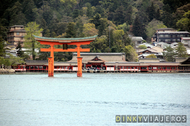 El santuario de Itsukushima y su torii flotante