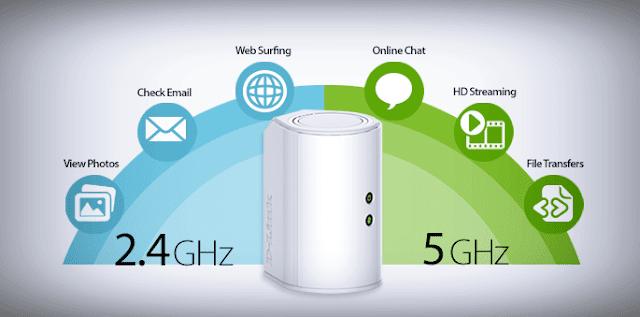 الفرق-بين-تردد-GHz2.4-GHz5