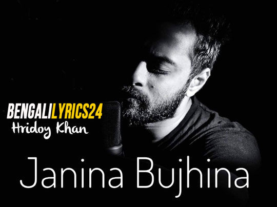 Janina Bujhina, Hridoy, MP3 Song