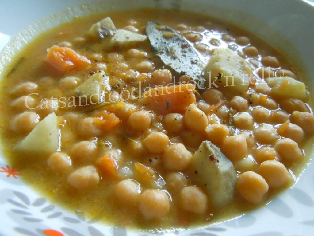 Cucinare Con L Acticook Zuppa Di Ceci Zucca E Patata Dolce Cotto