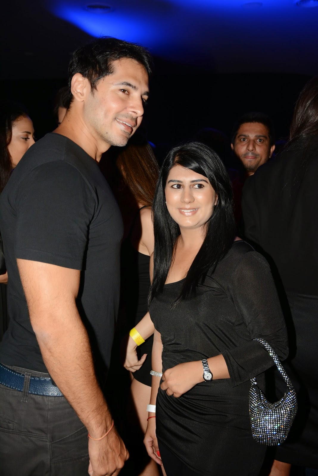 Dino Morea at the JBL Just Be Loud Party
