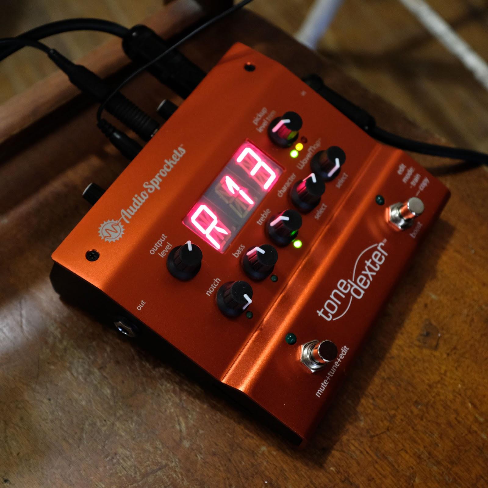 Review: Audio Sprockets ToneDexter Acoustic Preamp/EQ