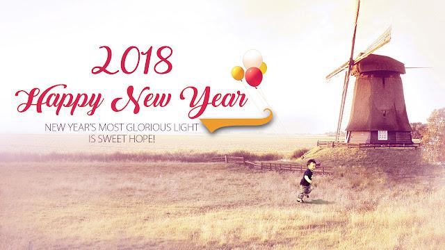 HAPPY NEW YEAR 2018 STATUS,