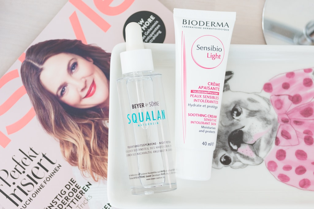 New In Pflege Beyer Söhne Squalan und Bioderma Sensibio Light