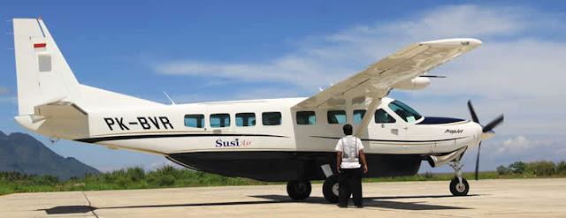 penerbangan susi air menuju karimunjawa