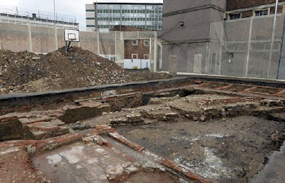 Norman castle remains found under Gloucester prison