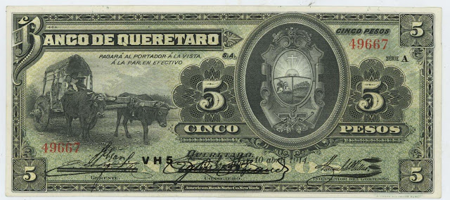 Mexican Peso Currency Bank Note images