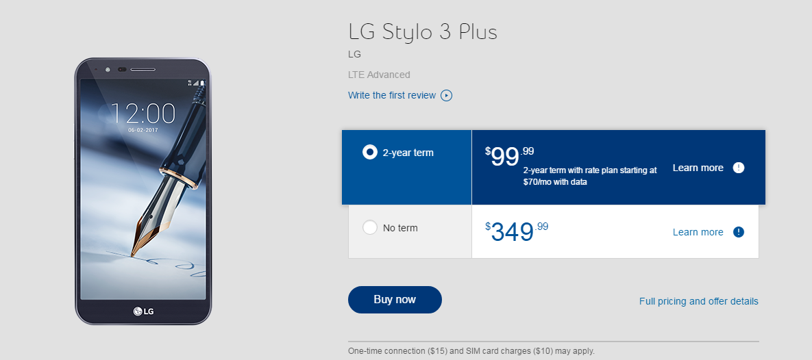 LG Stylo 3 Plus available today in Canada ~ Android Coliseum