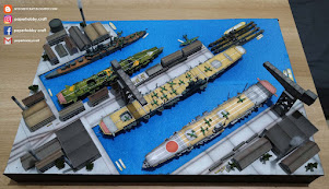 IMPERIAL JAPANESE NAVY BASE 1:700
