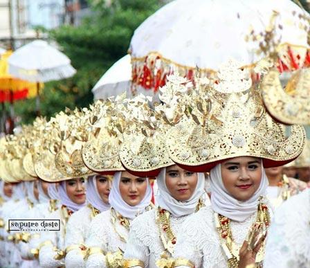 Tari Cangget Lampung