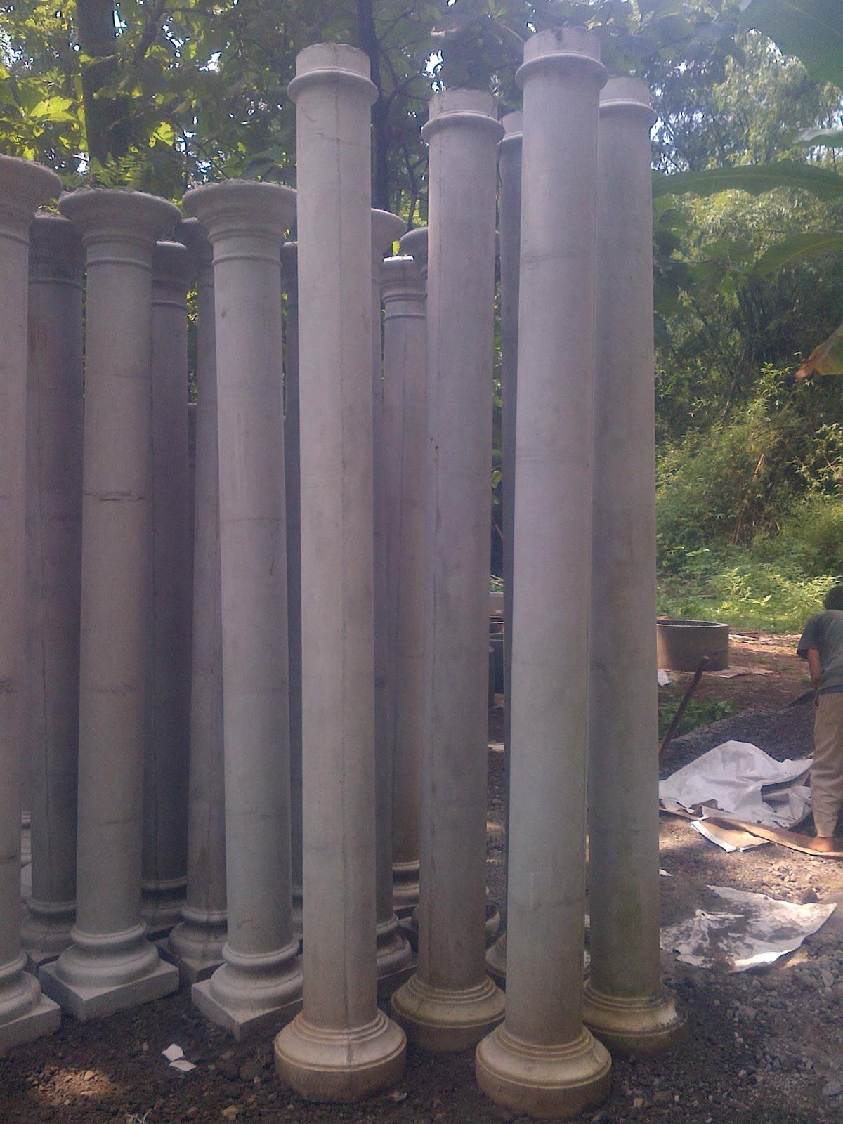 Pilar blombong Tiang Teras rumah   Sanjaya Profil Beton