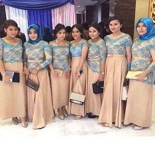 Model Baju Batik Seragam Keluarga Untuk Pesta