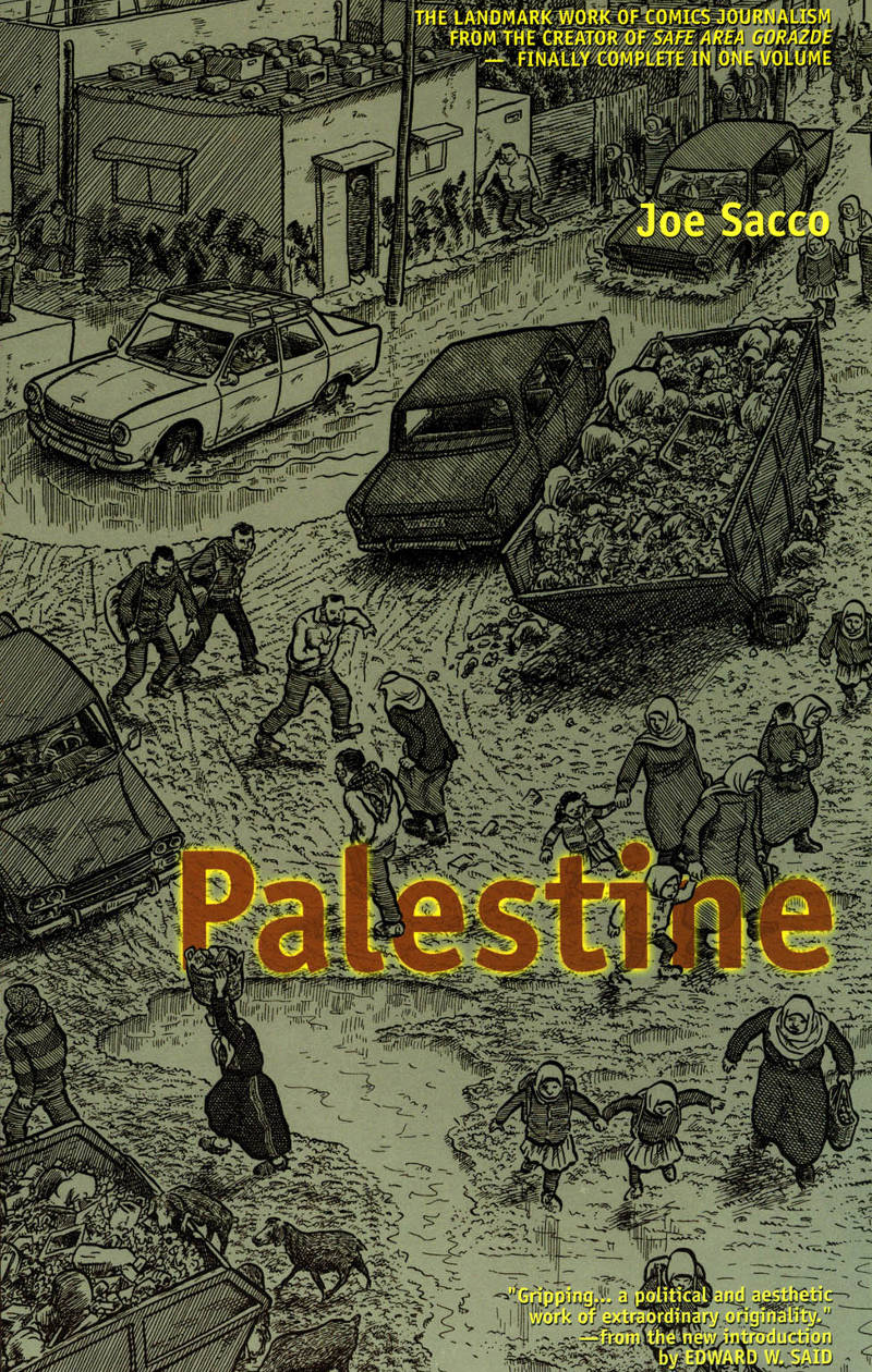 Read cover page of Joe Sacco - Palestine online