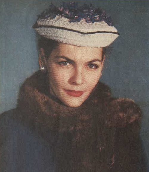 1951 hat fashion trends forward move AWW