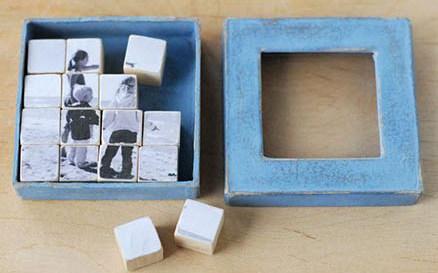 DIY ξύλινα παζλ με φωτογραφίες επιλογής σας