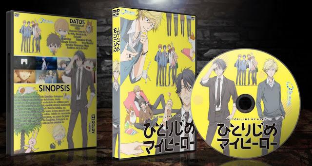 Hitorijime My Hero   Cover DVD  